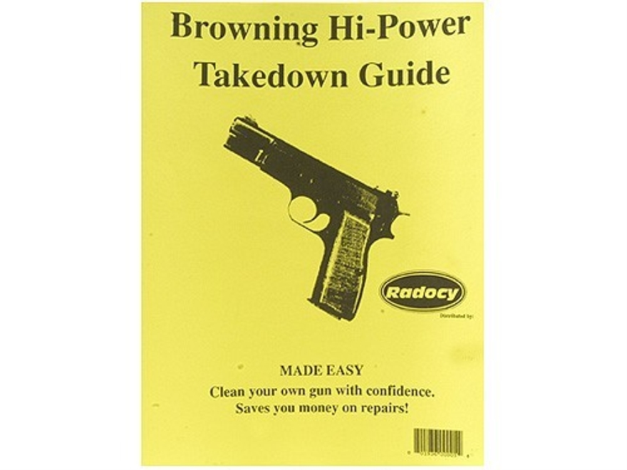Radocy Takedown Guide Browning Hi-Power - UPC: 801936000054