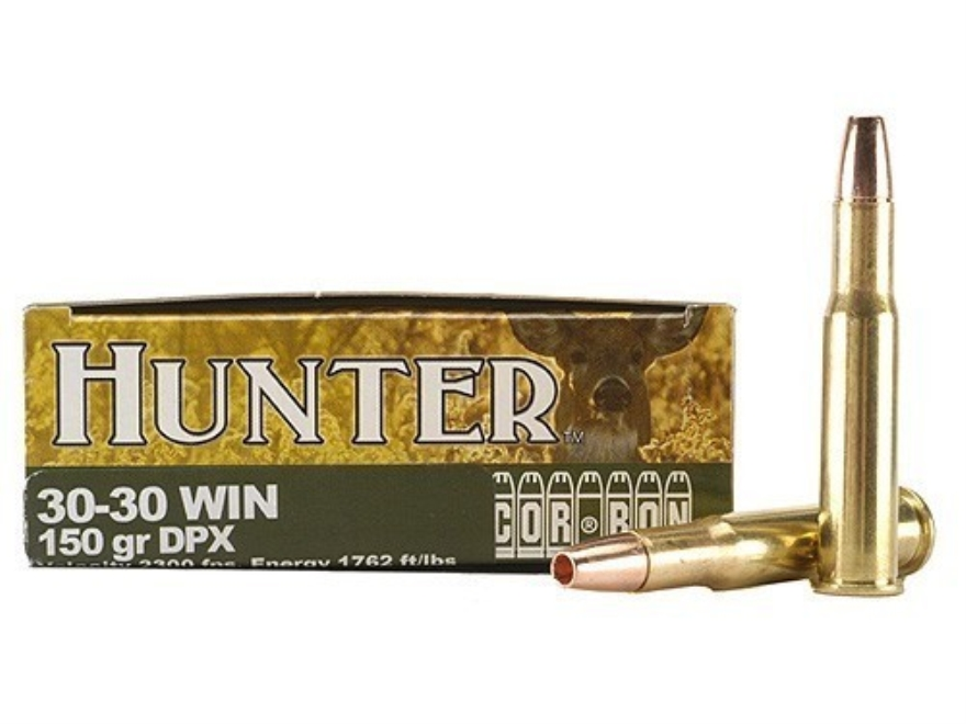 Cor-Bon DPX Hunter Ammunition 30-30 Winchester 150 Grain DPX Hollow Point Lead-Free Box...