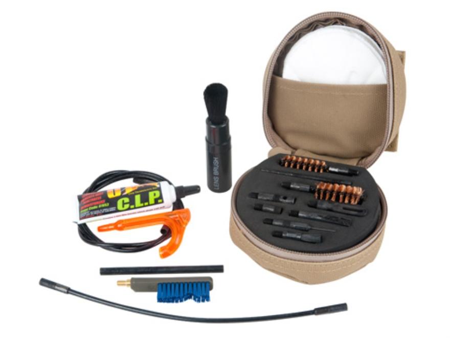 Otis 7.62mm/308 Caliber Rifle Cleaning Kit Anti-Glare Black