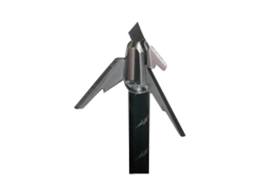 Wasp Z Force 3-Blade Mechanical Broadhead 100 Grain Stainless Steel Pack of 3