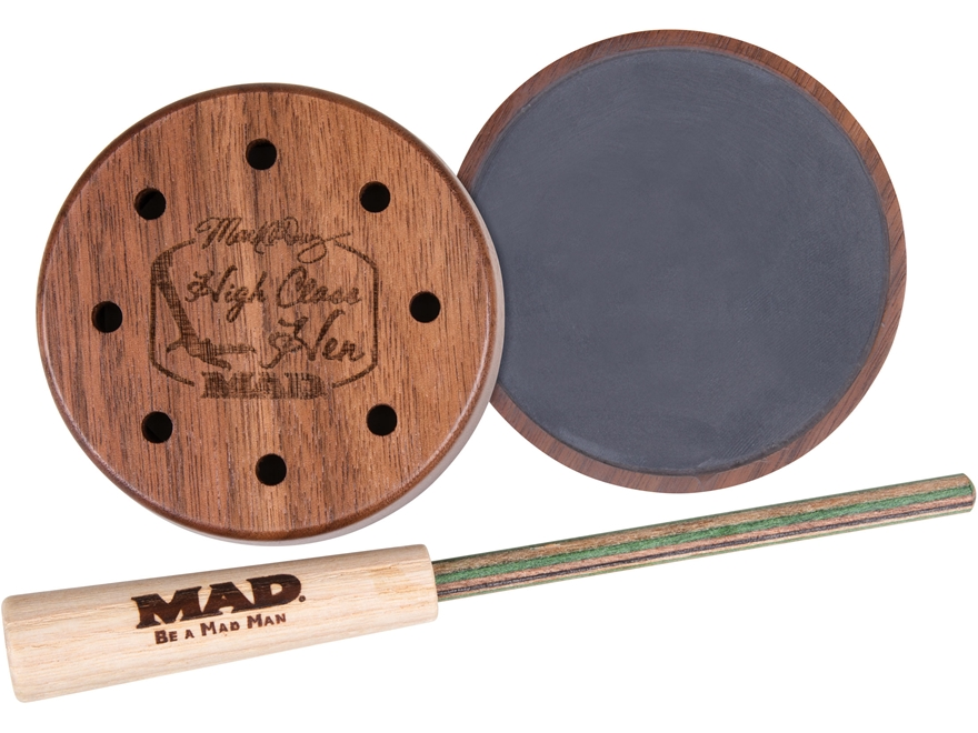 MAD High Class Hen Mark Drury Slate Call Turkey Call