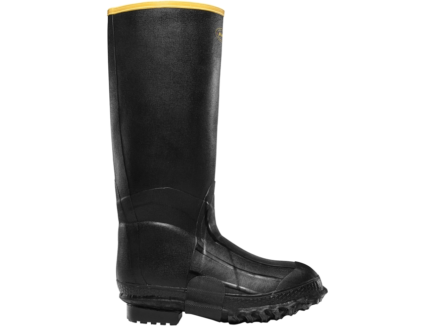 "LaCrosse ZXT 16"" Waterproof Insulated Knee Boots Rubber Black Men's"