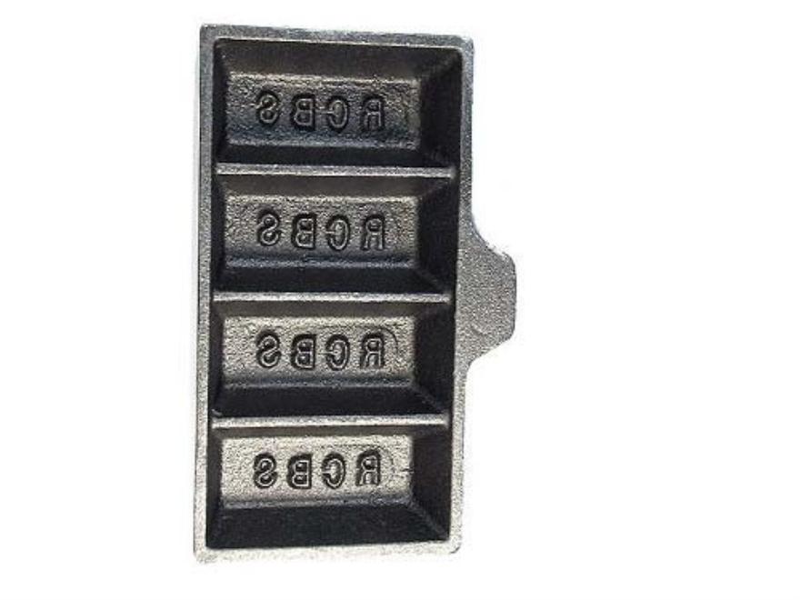 RCBS 4-Cavity Ingot Mold without Handle