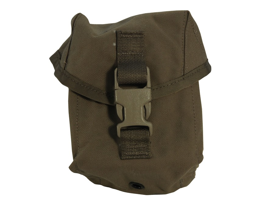 Military Surplus MOLLE II 100 round Utility Pouch Grade 1 Nylon Coyote