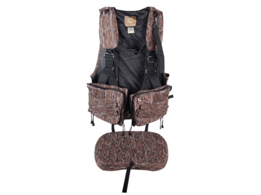 Ol' Tom Duralite Time & Motion Strap Turkey Vest Mossy Oak Bottomland Camo