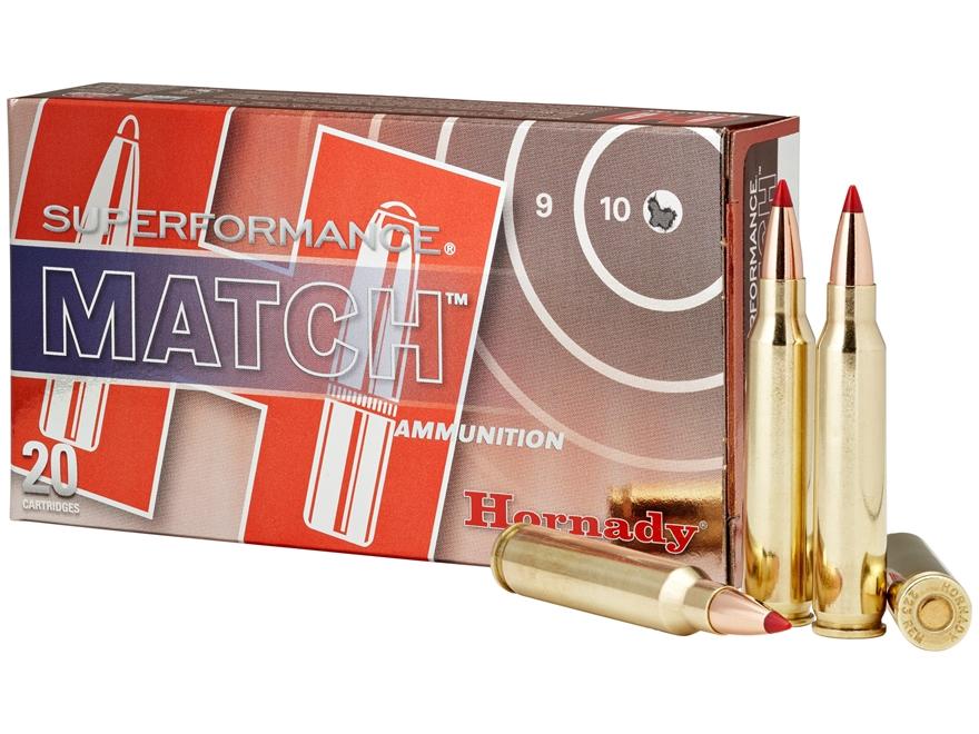 Hornady Superformance Match Ammunition 5.56x45mm NATO 73 Grain ELD Match Box of 20