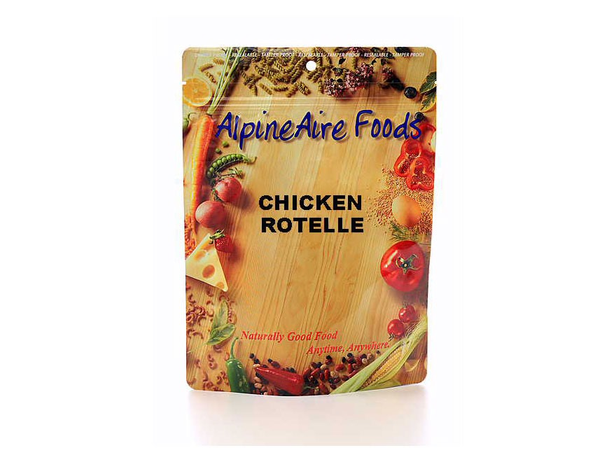 AlpineAire Chicken Rotelle Freeze Dried Food 2 Servings