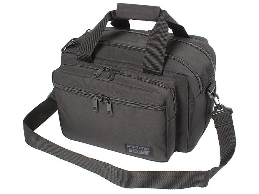 BLACKHAWK! Sportster Deluxe Range Bag 600D Nylon Black
