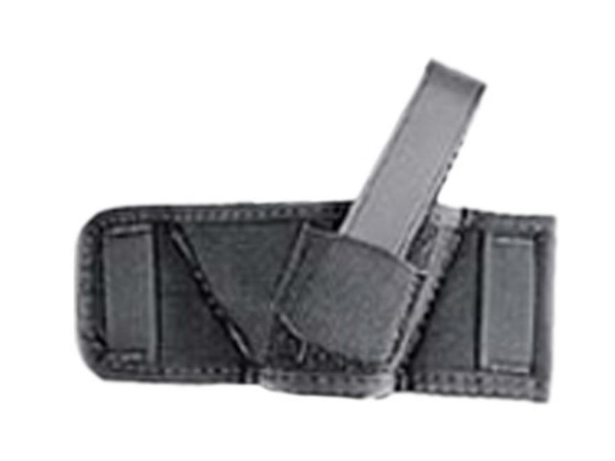 Uncle Mike's Side Bet Belt Slide Holster Ambidextrous Fits Most Pistols Nylon Black