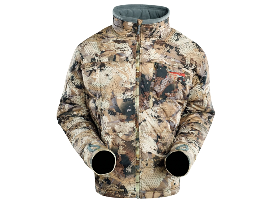 Sitka Gear Men's Fahrenheit Insulated Jacket Polyester Gore Optifade Waterfowl Marsh Camo