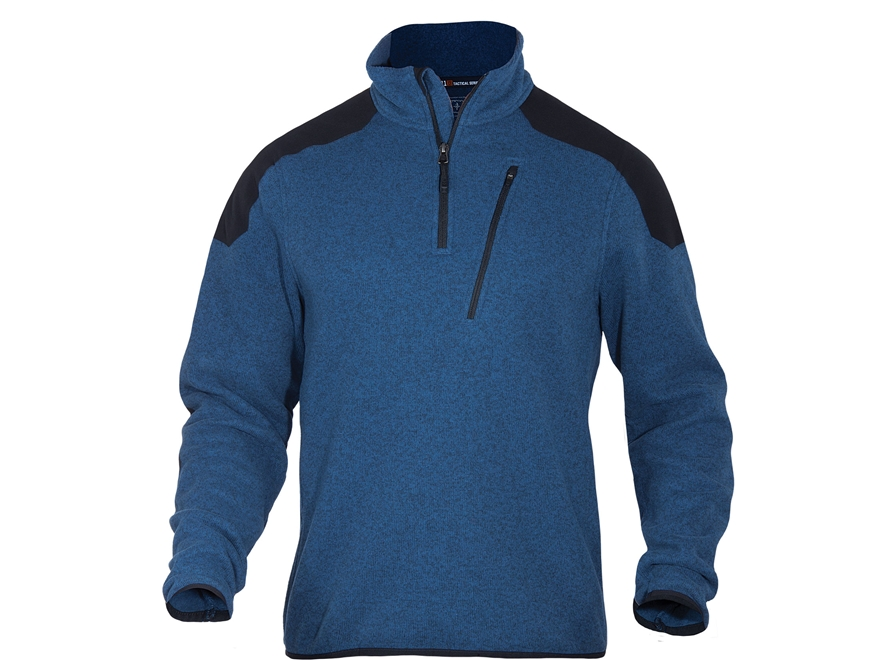 5.11 Men's Tactical 1/4 Zip Sweater Long Sleeve Polyester