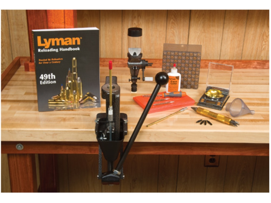 Lyman Crusher 2 Single Stage Press Master Reloading Kit 110 Volt