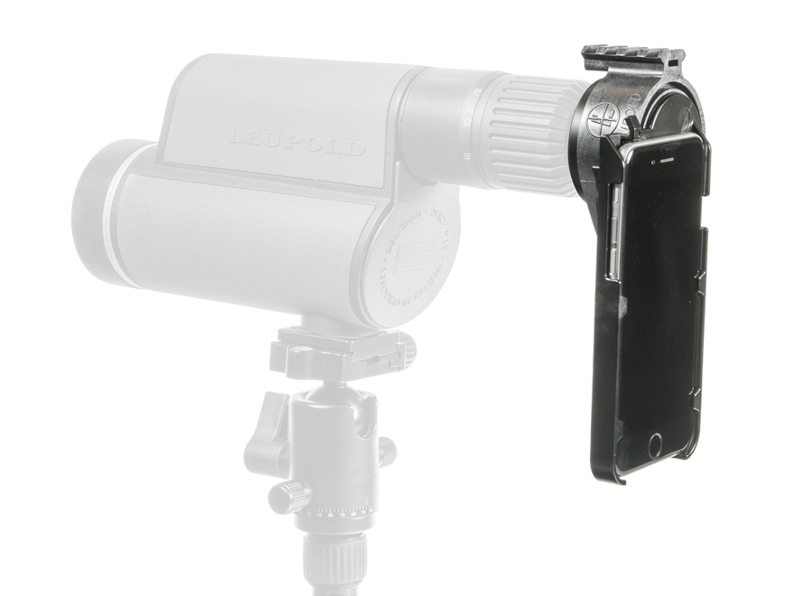 Leupold iPhone 6 Spotting Scope Adapter Kit Black MPN