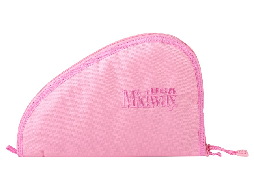"MidwayUSA Pistol Case 10"" Pink"