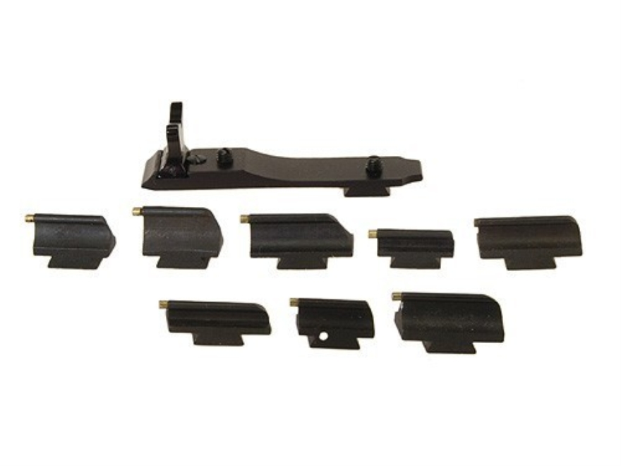 Williams Rifle Sight Assortment Kit Steel Blue