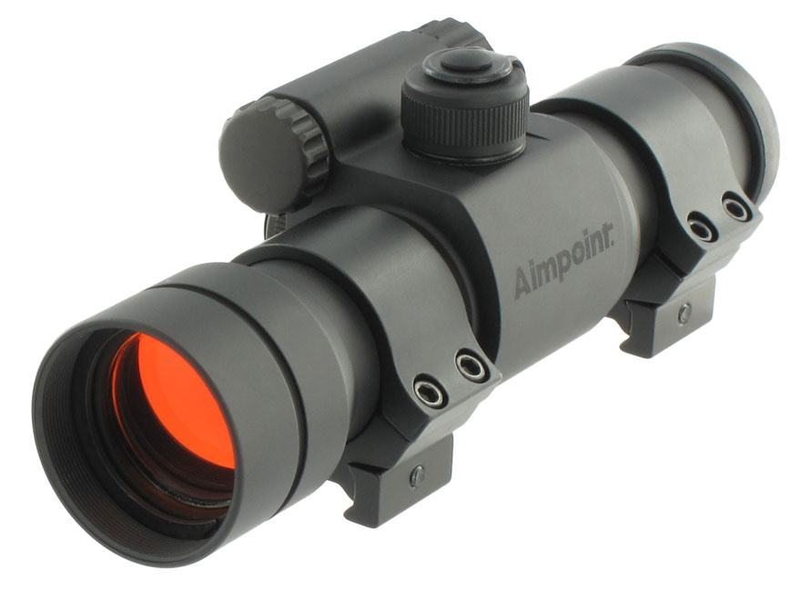 Aimpoint 9000SC-NV (Short) Night Vision Compatible Red Dot Sight 30mm Tube 1x 2 MOA Dot...