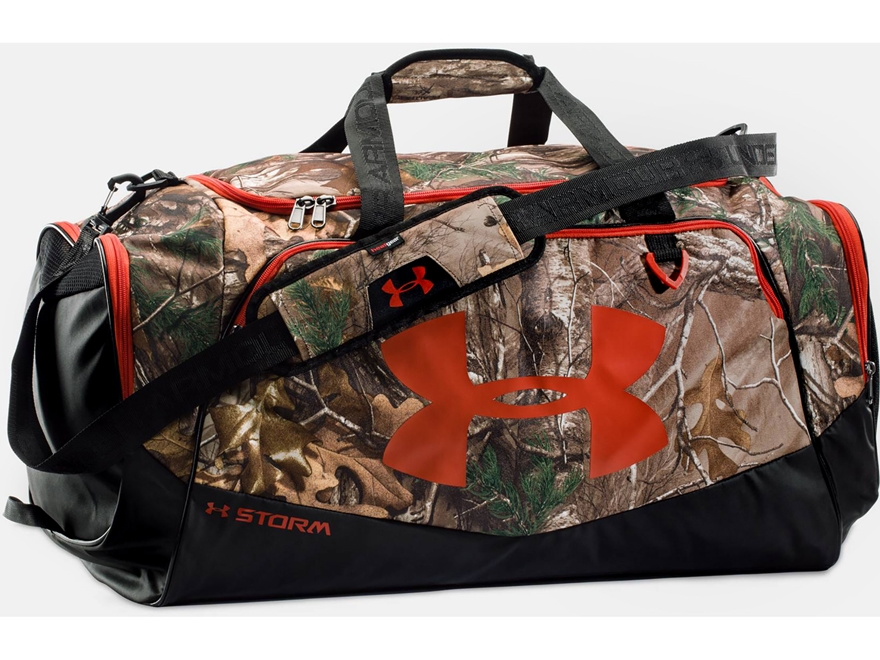 Under Armour Camo Undeniable Duffel Bag Polyester Realtree Xtra