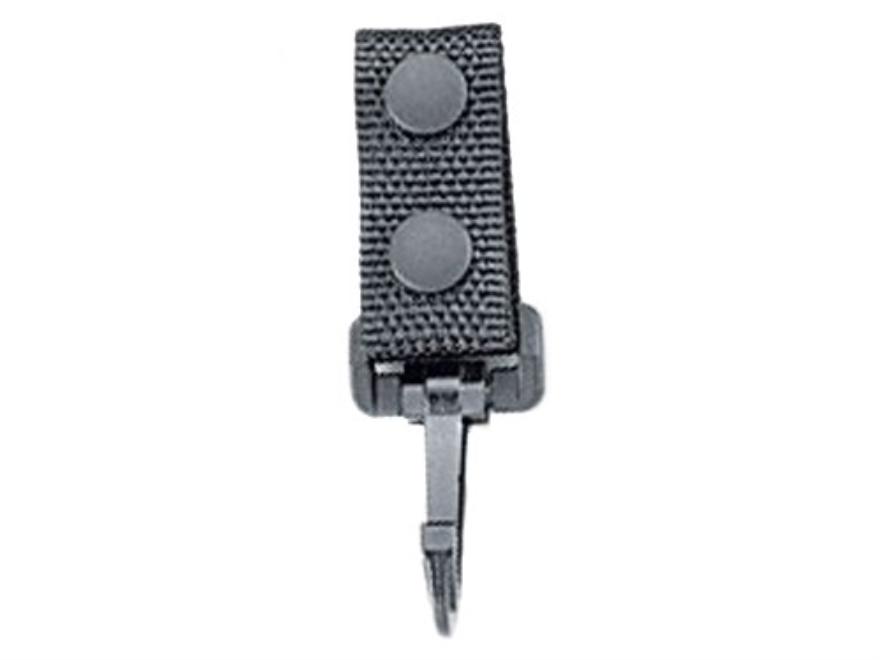 Uncle Mike's Standard Key Ring Holder Nylon Black