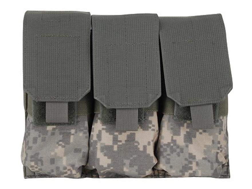 BLACKHAWK! S.T.R.I.K.E. Speed Clip M4/M16 Triple Magazine Pouch Holds 6 AR-15 30 Round ...