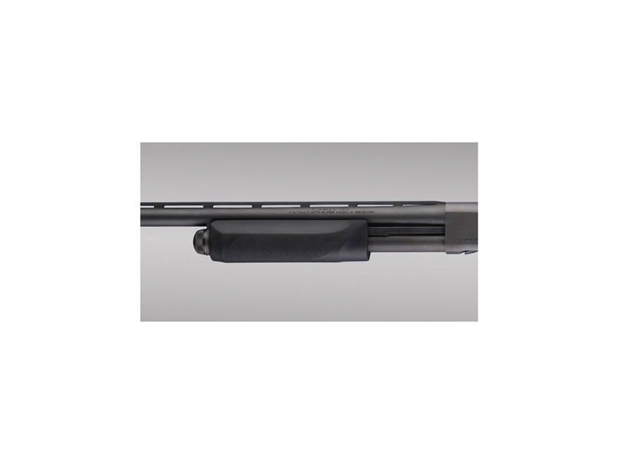 Hogue Rubber OverMolded Forend Remington 870 12 Gauge Synthetic Black