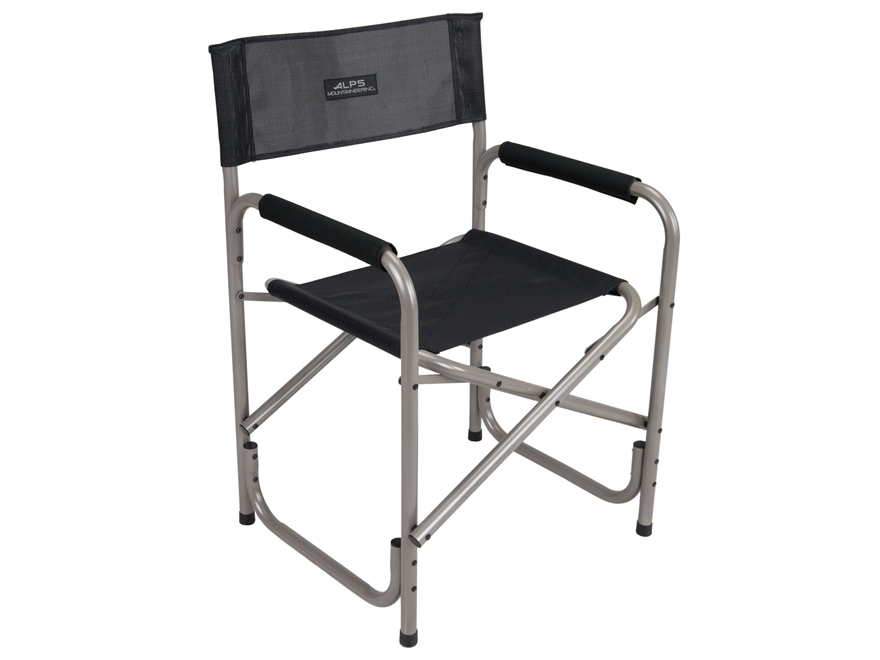 ALPS Mountaineering Traveler Camp Chair Aluminum and Polyester Black