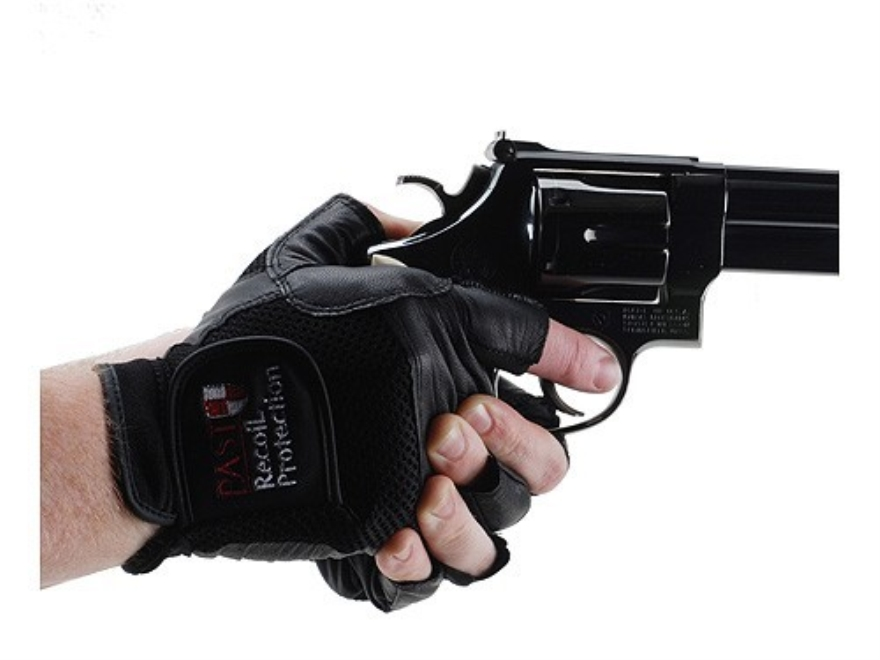 PAST Professional Shooting Gloves Fingerless Leather