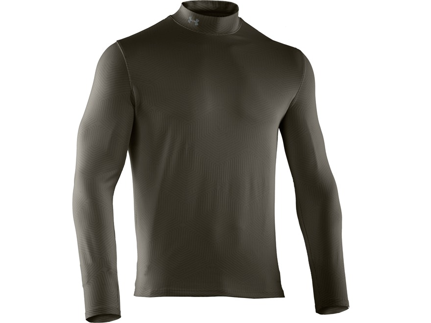 Under Armour Men's ColdGear Infrared EVO Mock Base Layer Shirt