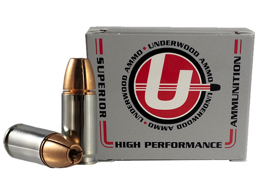 Underwood Ammunition 9mm Luger +P+ 105 Grain Lehigh Controlled Fracturing Hollow Point ...
