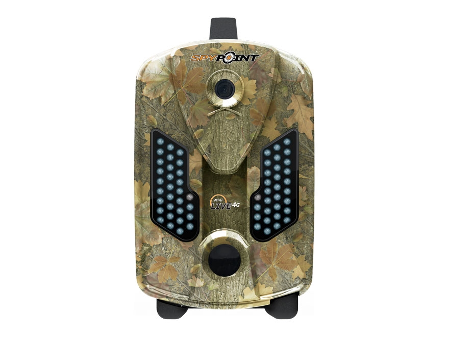 Spypoint Mini-Live4G Cellular Black Flash Infrared Game Camera with Remote 10 Megapixel...