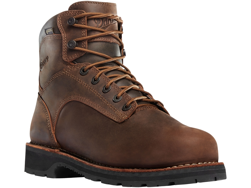 "Danner Workman 6"" Waterproof GORE-TEX Work Boots Leather Men's"