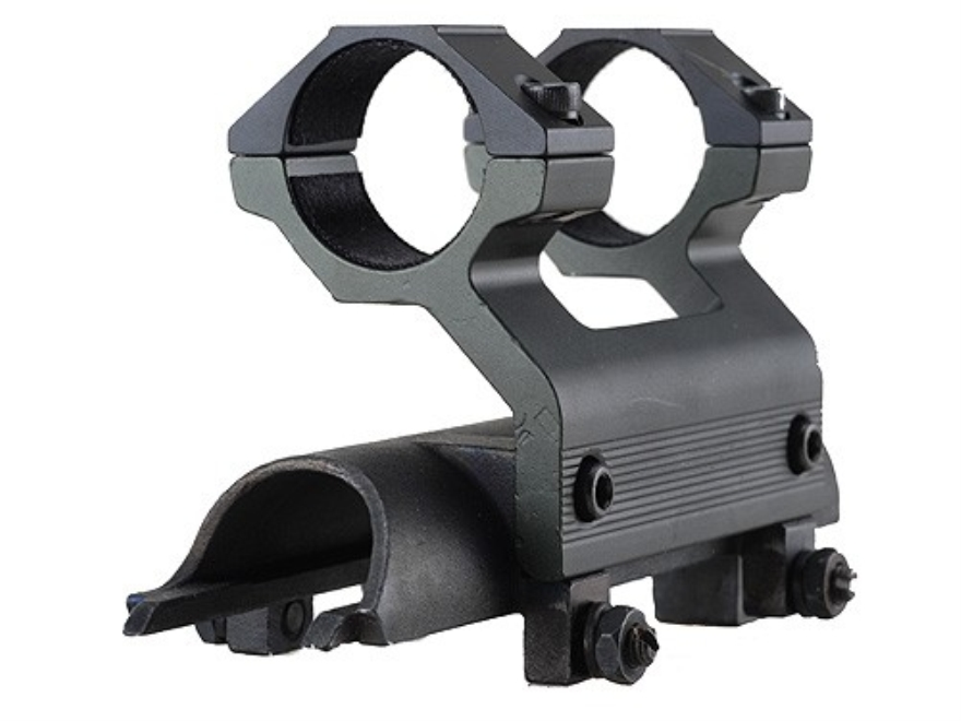 "Leapers UTG 5th Generation High-Profile Mount with Integral 1"" See-Thru Rings SKS Matte"