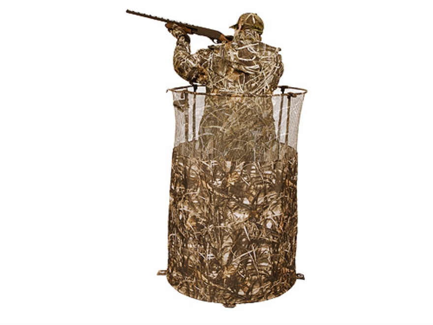 "Ameristep Ringer Ground Blind 36"" x 54"" Polyester Realtree Max-4 Camo"