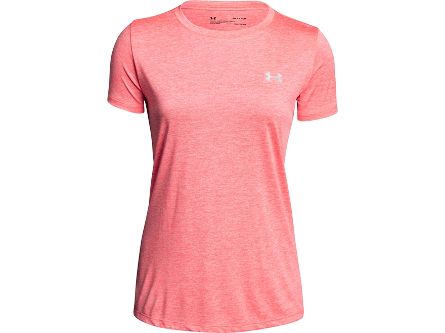 Under Armour Women's UA Tech Crew Neck T-Shirt Short Sleeve Polyester