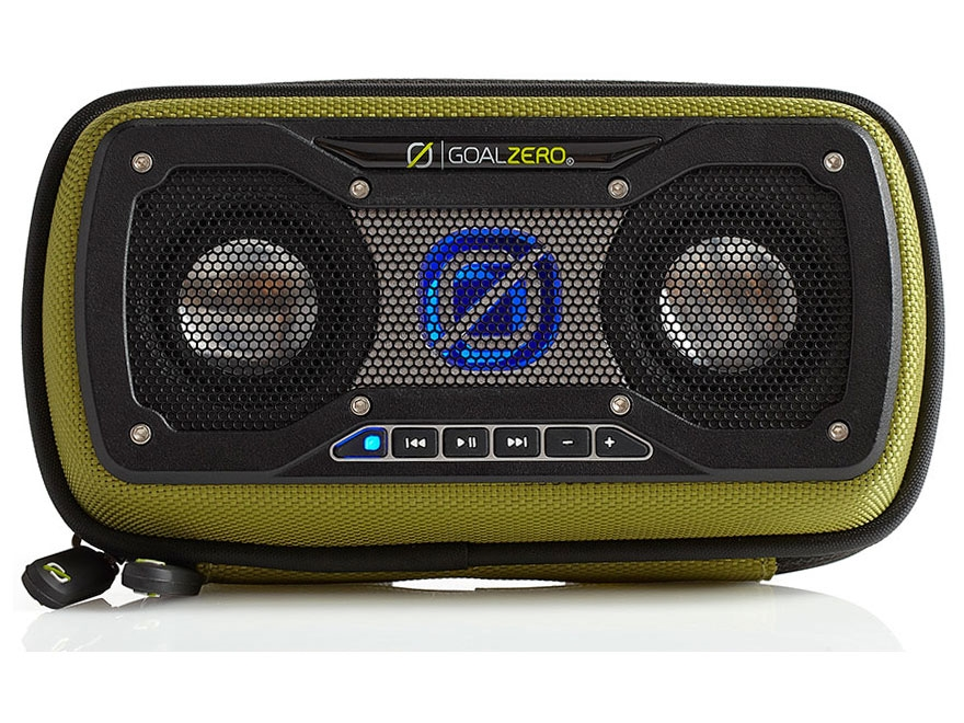 GoalZero Rock Out 2 Solar Wireless Speaker Green