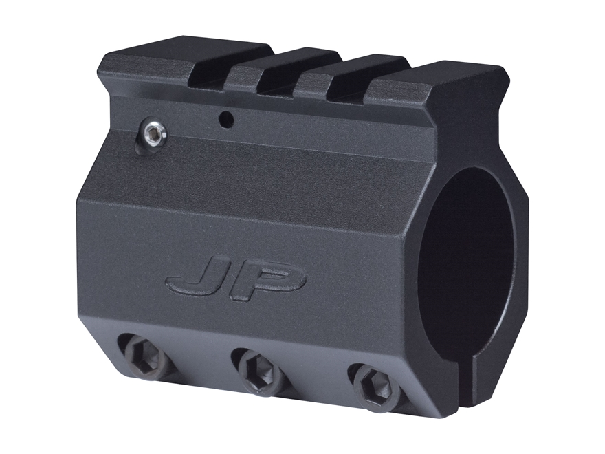 JP Enterprises Adjustable Gas Block Picatinny Rail Sight Mounting AR-15, LR-308 Bull Ba...