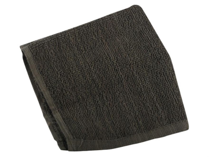 "5ive Star Gear Mil Spec Washcloth 100% Cotton 12"" x 12"" Olive Drab"