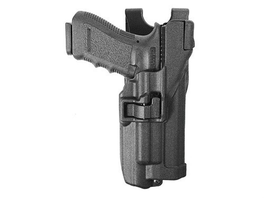 BLACKHAWK! Level 3 Serpa Belt Holster Glock 17, 22, 31 with Xiphos Tactical Light Polym...