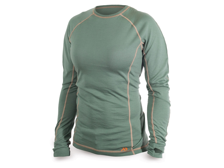 First Lite Women's Lupine Crew Shirt Long Sleeve Merino Wool