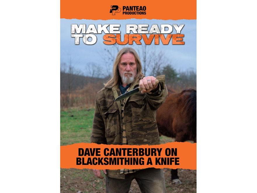 "Panteao ""Make Ready to Survive: Dave Canterbury on Blacksmithing a Knife"" DVD"