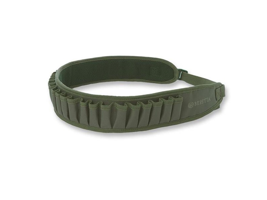Beretta Gamekeeper Shotshell Ammunition Carrier Belt Nylon Green