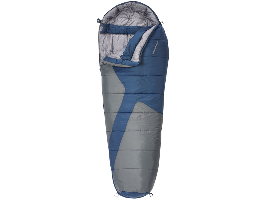 Kelty Mistral 20 Degree Mummy Sleeping Bag Polyester Brick Red