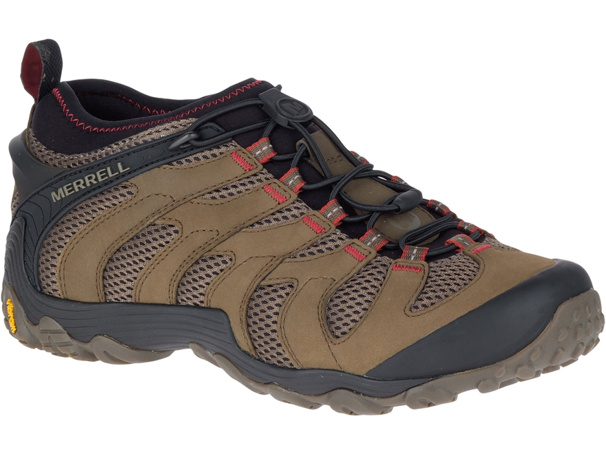 "Merrell Chameleon 7 Stretch 4"" Hiking Shoes Leather/Nylon"