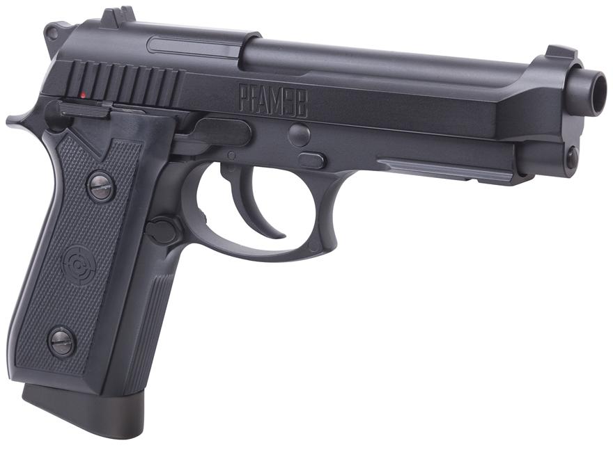 Crosman PFAM9B Air Pistol 177 Caliber BB Black