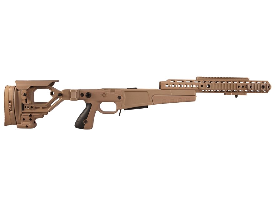 Accuracy International Chassis System AX AICS Stage 2.0 Folding Adjustable Stock 5-Roun...