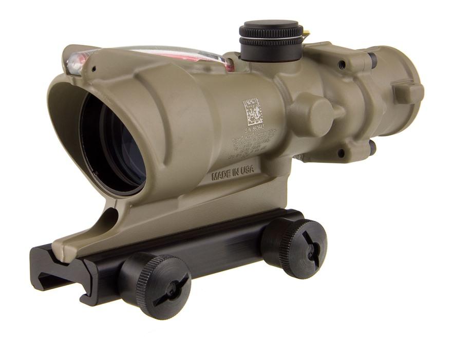 Trijicon ACOG TA31-D Rifle Scope 4x 32mm Dual-Illuminated with TA51 Flattop Mount
