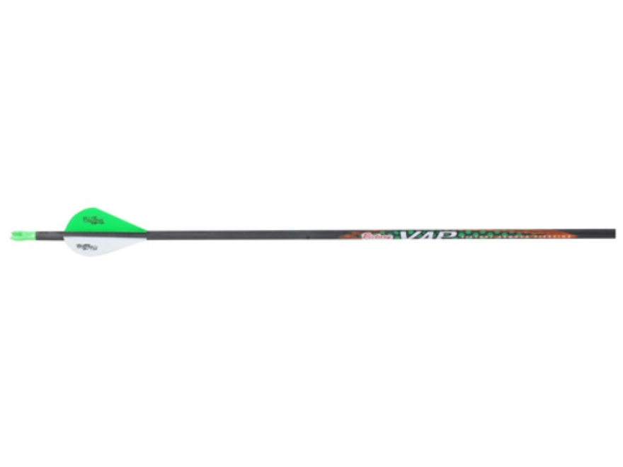"Victory VAP V6 400 Carbon Arrow 2"" Blazer Vanes Carbon Black Pack of 6"