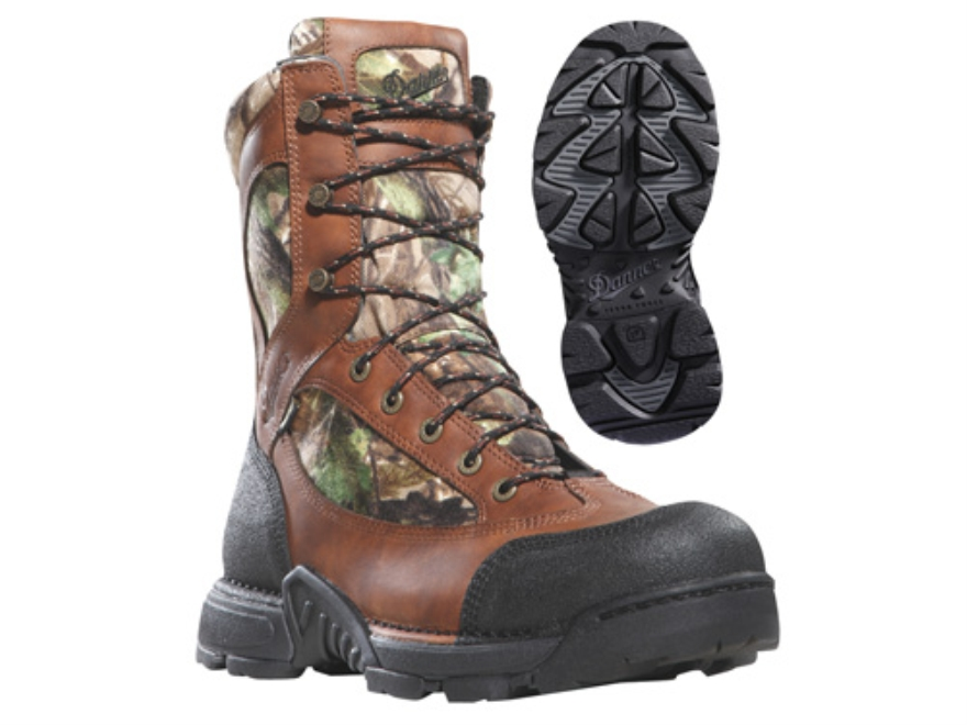 "Danner Pronghorn GTX 8"" Waterproof Uninsulated Hunting Boots Leather and Nylon Realtree..."