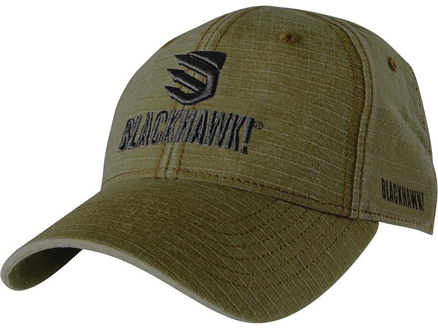 BLACKHAWK! Weathered Ripstop Logo Cap Ripstop