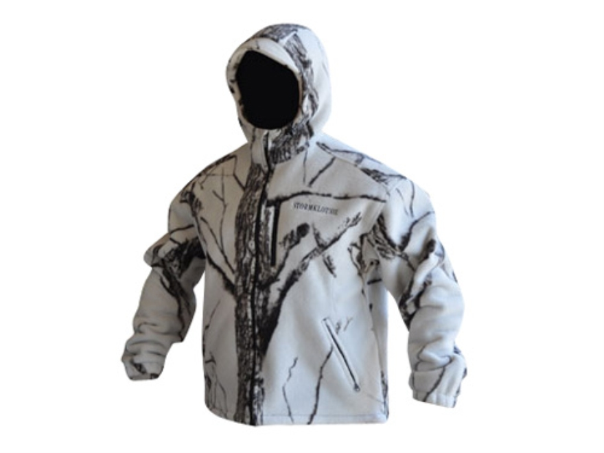 Stormkloth II Men's SKII Waterproof Fleece Jacket Polyester Stormkloth Snowstorm Camo L...