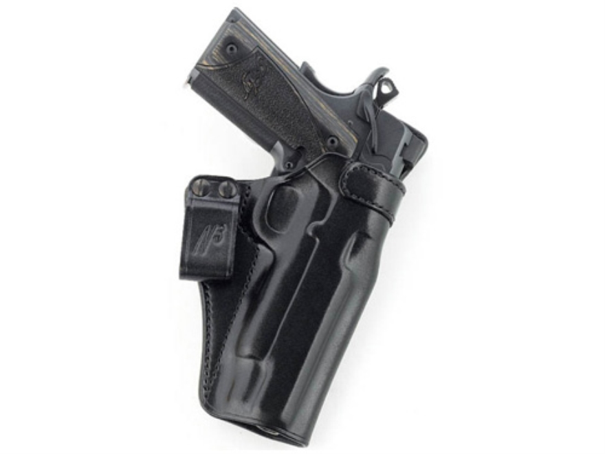 Galco N3 Inside the Waistband Holster Right Hand 1911 Commander Leather Black